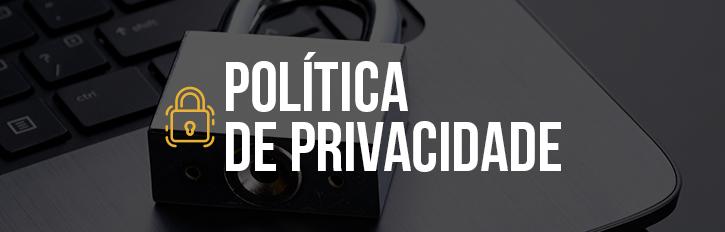 Banner Política de Privacidade